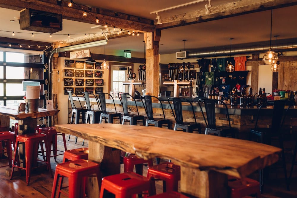 Throwback Brewery Interior