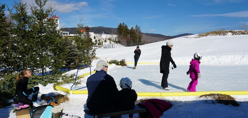 Bretton Woods Ice Skating