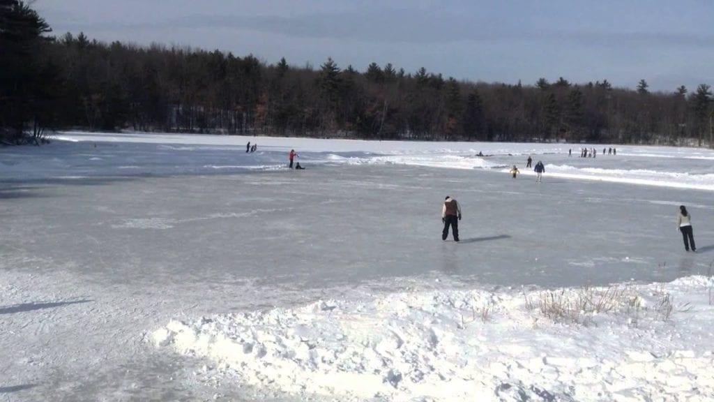 Dorrs Pond Ice Skating