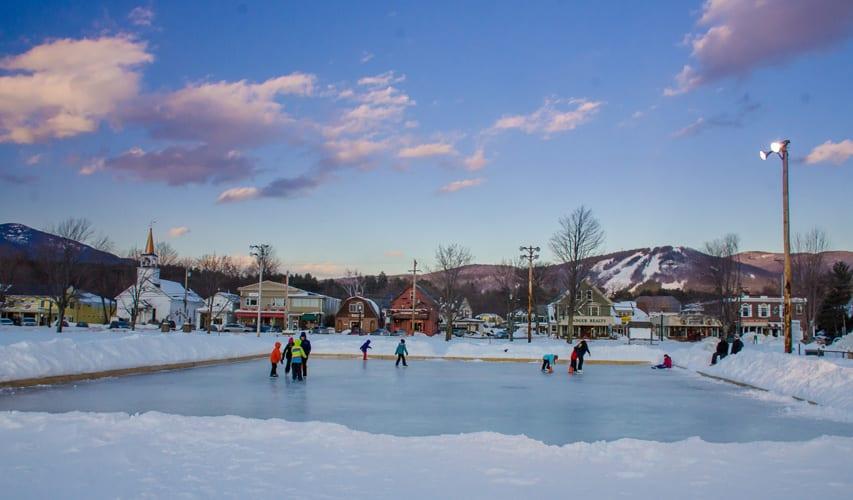 North Conway Ice Skating